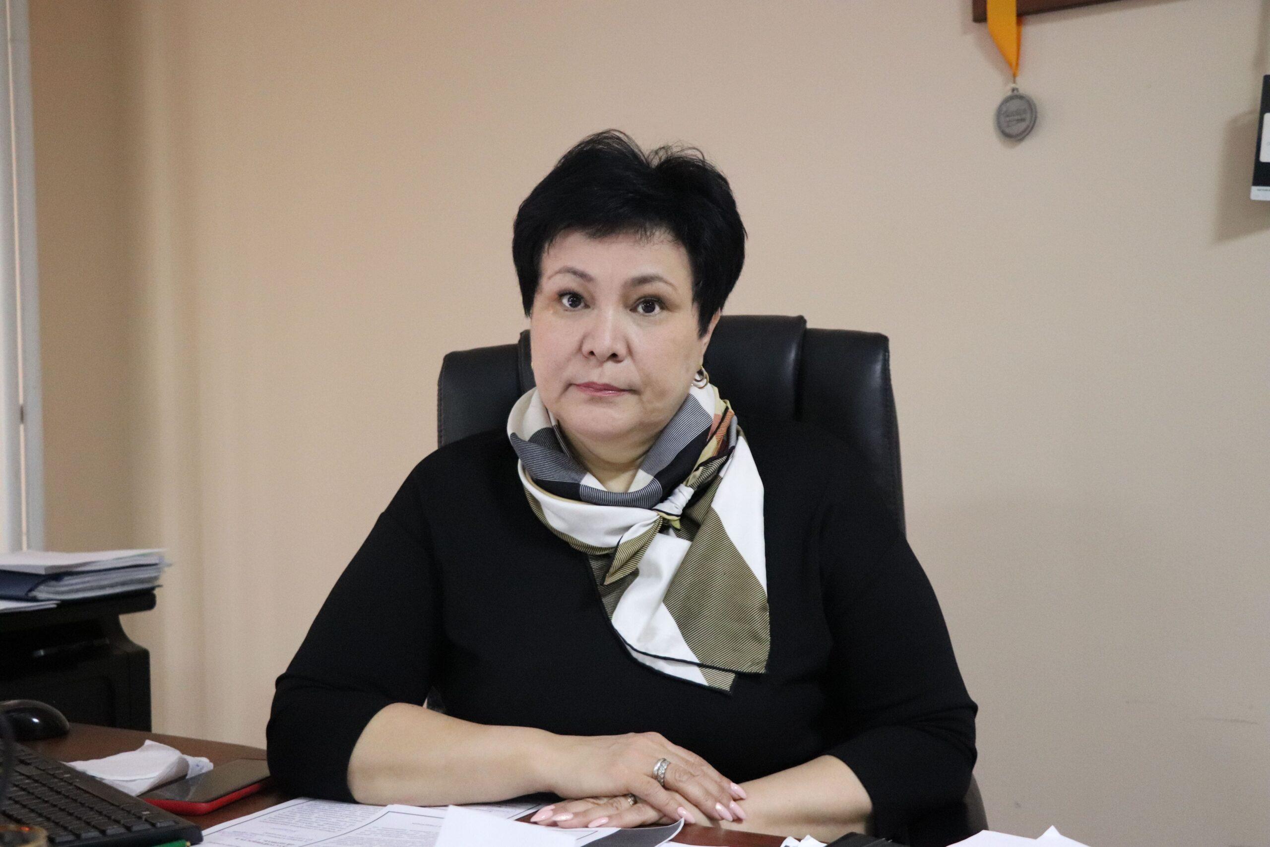 >Gulnara Zhagyparovna Nurmukhanova