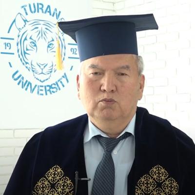 Поздравление ректора университета «Туран» Алшанова Рахмана Алшановича в адрес выпускников 2021 года!
