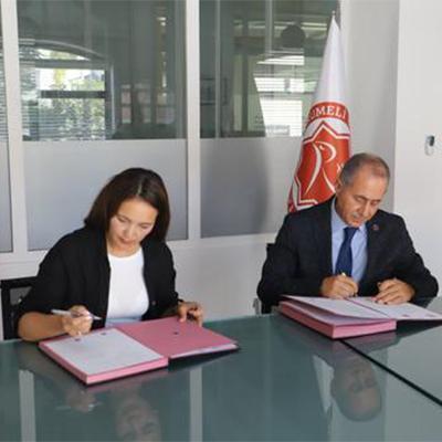 Signing a Memorandum of Cooperation between Turan University and İstanbul Rumeli Üniversitesi, Turkey