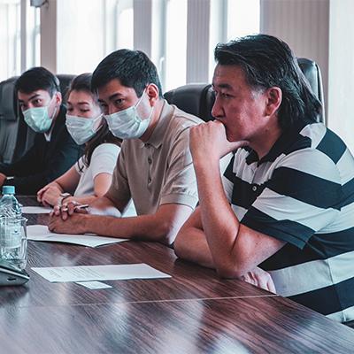 Сотрудничество с Управлением креативных индустрий города Алматы