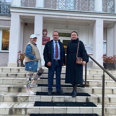Академическая мобильность директора отдела докторантуры по программе Erasmus+ в университет Calisia, Польша